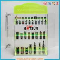 Cheap clear acrylic e-cigarette display stand /e-liquid display case / e liquid bottle display for sale