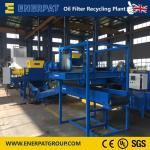 Quality Factory Offer Oil Filter Shredder Recycling Line/Oil Filter Shredding Machine wholesale
