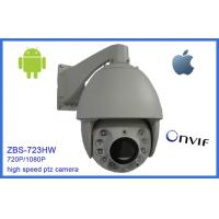 Quality 7 Inch Mini PTZ Network Camera IP66 High Speed 20 Optical Zoom Die-Cast Housing wholesale