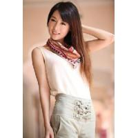 Quality Silk Polyester Scarf (12-BR050320-6.4) wholesale