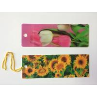 Quality Custom 0.6 mm PET 3D Lenticular Bookmarks With Two Sides CMYK Printing ISO wholesale