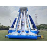 Quality 14.45mH Colorful Commercial Inflatable Water Slide With Pool wholesale
