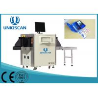 Quality 0.4 To 1.2mA X Ray Security Scanner , Conveyor Max Load 150kgs Airport Baggage Scanner wholesale