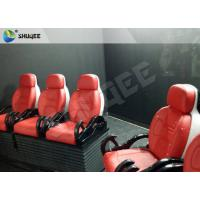 Cheap Truck Mobile 5D Cinema dynamic control system With 6 - 12 Seats for sale