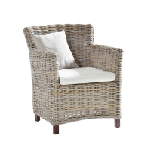 Quality Depth 52cm Rattan Wicker Chairs wholesale