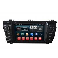 Quality 2014 Toyota Corolla GPS Navigation Android DVD Player 7inch Touch Panel wholesale