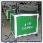 Quality Automatic 200-400kg/hr Sugarcane Peeler Machine for Hot Sale wholesale