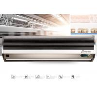 China Aluminum / ABS Cover Residential Air Curtain , Single Cooling Air Door Curtain on sale