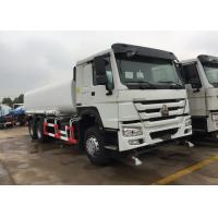 Quality Green Water Carrying Water Tanker Truck LHD 6X4 15 - 25CBM Drinking Water Truck wholesale