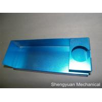 Quality Blue Powder Coated Precision Custom Sheet Metal Fabrication Al5052 Bending Case wholesale