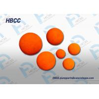 China sponge rubber foam balls cleaning ball cleaning wiper ball to wash pipe on sale