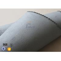 1600GSM 1.2MM Gray Silicone Coated Fiberglass Fabric For Flexible Joints