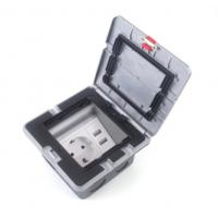 Quality Electric Pop Up Waterproof Floor Outlet Box Socket With 20 Amps Receptacle wholesale
