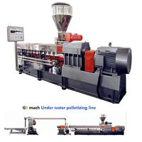 300 - 400 Kg / H Double Screw Extruder Machine With Under Water Pelletizing System