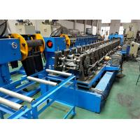 China 150mm 300mm Web Perforated Cable Tray Roll Forming Machine With Pre - Cut Device on sale