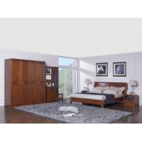 Cheap New design Nanmu Solid wood Bedroom furniture set By ISO9001 and FSC china good factory to sell high end quality for sale