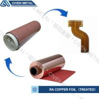 Quality RA COPPER FOIL--TREATED/USED FOR FPC/FCCL/THINCKNESS:12/18/25/35/50UM wholesale