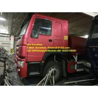 China Sinotruk Howo7 High Pressure Water Tank Truck 4000 Gallon Left Hand Drive 6X4 on sale