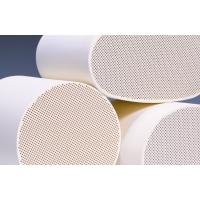 Cordierite Diesel Particulate Filter , White Ceramic Substrate