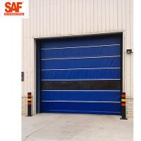 Quality Fast shutter door with Protection PVC Roll Up for clean area factory automation wholesale