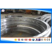Quality 4130 / 1.7218 Forged Steel Rings Black / Smooth Surface Chrome Alloy Steel wholesale