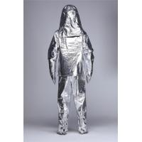 Quality Heat Resistant Aluminized Fire Proximity Suit Fire Resistant Clothes for Fire Rescue wholesale