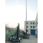 Quality 15m mobile telecom mast tower trailer system wholesale