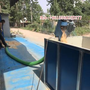 Quality 10T/H spiral plastic dry bulk material handing conveyor equipment wholesale