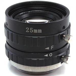 China 25mm F1.8 2/3 C Mount 3 Mega pixels Industrial Lenses / Machine Vision Lenses on sale
