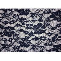Cheap Beauty Chemical Lace Fabric / Cupion Lace Fabric With Polyester / Cotton for sale