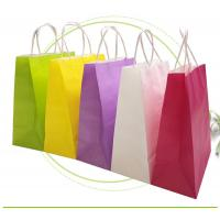 Quality Strong Sealing Matt Kraft Paper Bags Large Size Customized Print Accepted wholesale