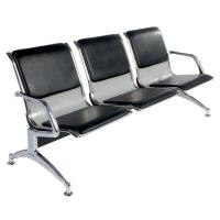 Quality Metal Steel 3 Seater Hospital Waiting Area Chairs Public / Airport Waiting Chairs wholesale