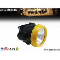 China 1W 4000 Lux LED Mining Light With 2.2Ah Li-Ion Battery Water Proof IP68  on sale
