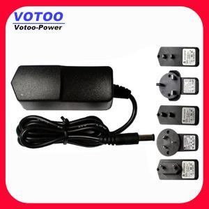 Cheap ROHS 9 Watt 9 Volt 1 Amp AC Wall Mount Power Adapter / Power Supply AC Adapter for sale
