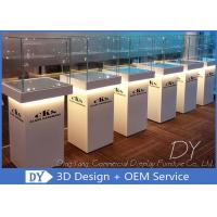 Quality Custom Jewellery Shop Display Cabinet / Middle Standing Jewelry Display Showcase wholesale