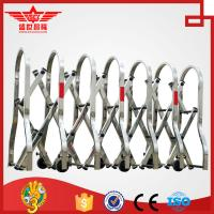 Quality retractable barrier,sliding barrier,road barrier-J1435 wholesale