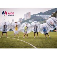 Quality Costume Bubble Suit Inflatable Ball Game Soccer , Giant Inflatable Ball To Ride In wholesale