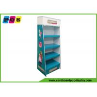 Quality POP POS Corrugated Paperboard Shipper Floor Display Stand For Craft Kits wholesale