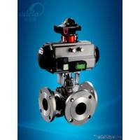 Quality Pneumatic Three-way Ball Valve wholesale