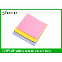 Quality Needle - Punched Non Woven Cleaning Cloths Disposable Viscose / Polyester Material wholesale