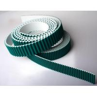 Quality htd8m pu timing belt with green fabric wholesale