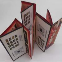 Quality Small Folded Leaflet Printing For Electronics, Promotional C2s Paper 7 Folds User Manual wholesale