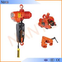 Quality Chain Bag Electric Chain Hoist With Limit Switch , High Strength Shell wholesale