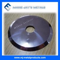 Cheap High quality hot selling HIP Sintered tungsten carbide disc cutters for cuttting for sale