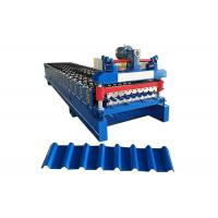 China Metal Roof Roll Forming Machine , Roof Panel Roll Forming Machine on sale