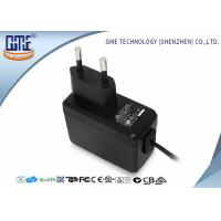 Quality EN60950/60065 EU Plug Wall Mount Power Adapter with CE GS Safety Mark wholesale
