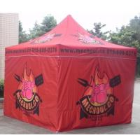China Red 10x10ft Easy Folding garden Pop Up Gazebo Tent Dye Sublimation Printing on sale