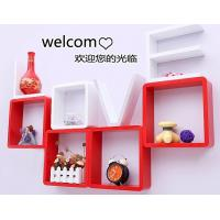 Quality Korean Style Love Storage Rack Wall Shelf Wall Hanger Home & Wall Decor Creative Gift White Color wholesale