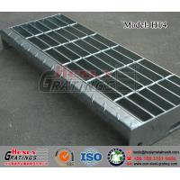 Quality HT4 Steel Grating Stair Tread with Nosing Plate wholesale
