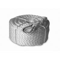 "Quality hot selling 3/4""x150' Twisted 3 Strand Nylon Anchor Rope with Thimble wholesale"